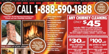 Pro-Tech Chimney Cleaning & Repairs