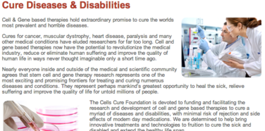 Cells Cure Foundation