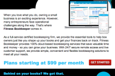 Fitness Bookkeeper
